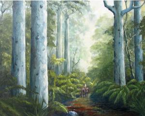 Kauri Forest, helenblairsart