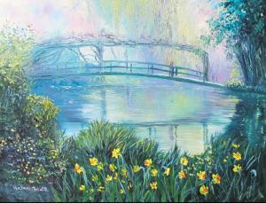 helenblairsart-Monets Garden