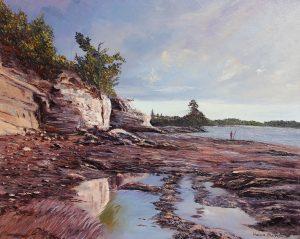 helenblairsart, Cliff Reflections