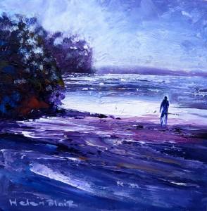 Beach walk, helenblairsart