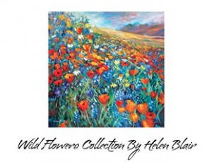 Wild Flowers Book, by Helen Blair
