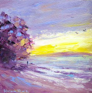 Sunset Stroll, helenblairsart