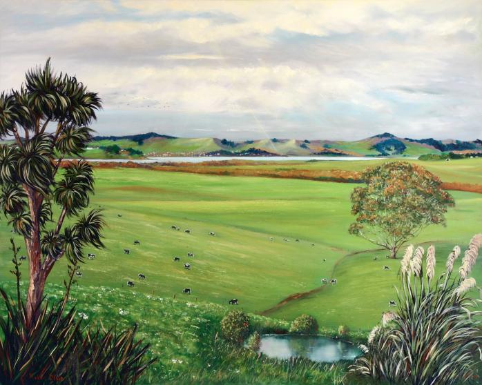 Farmland, helenblairsart