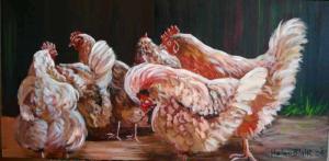 Chickens,helenblairsart