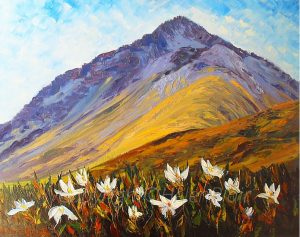 Copyright©HelenBlairsart-Mountain Daisies,
