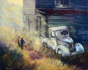 Old Truck, helenblairsart