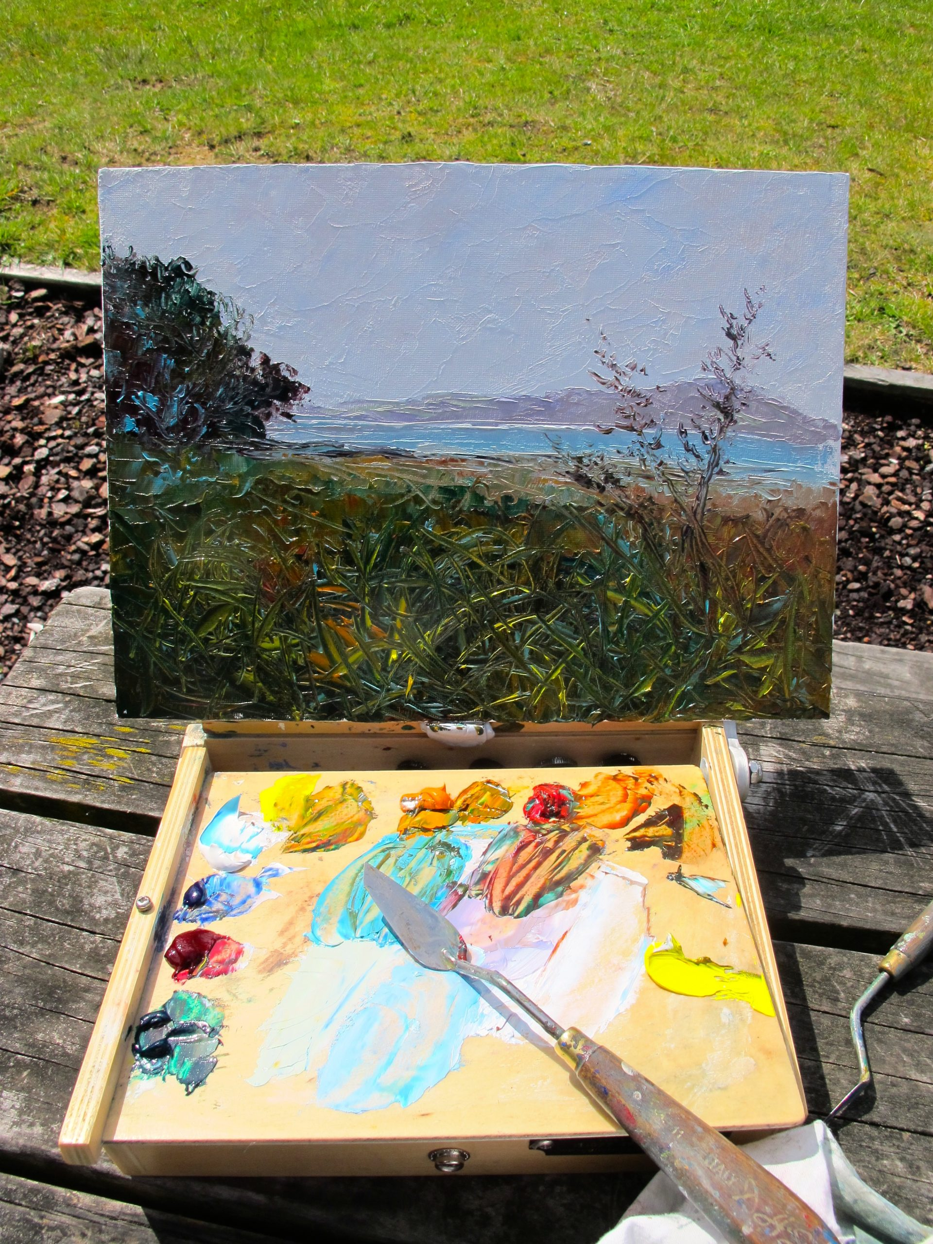 pleinair paintbox, helenblairsart