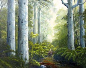 Kauri forest, helensblairsart