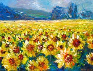 helenblairsart-Sunflower Field