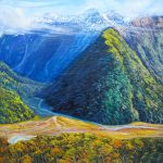 helenblairsart-Routeburn Valley