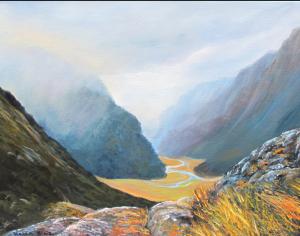 helenblairsart-Misty Mountains
