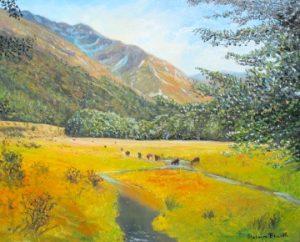 helenblairsart, Mountain Valley