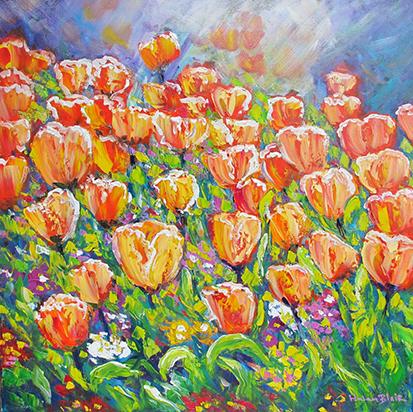 Tulips, helenblairsart