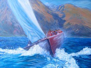 helensblairsart-Sailing the Breeze
