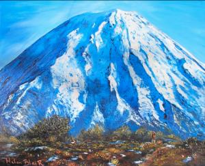 Mt Ngaruruhoe, helenblairsart