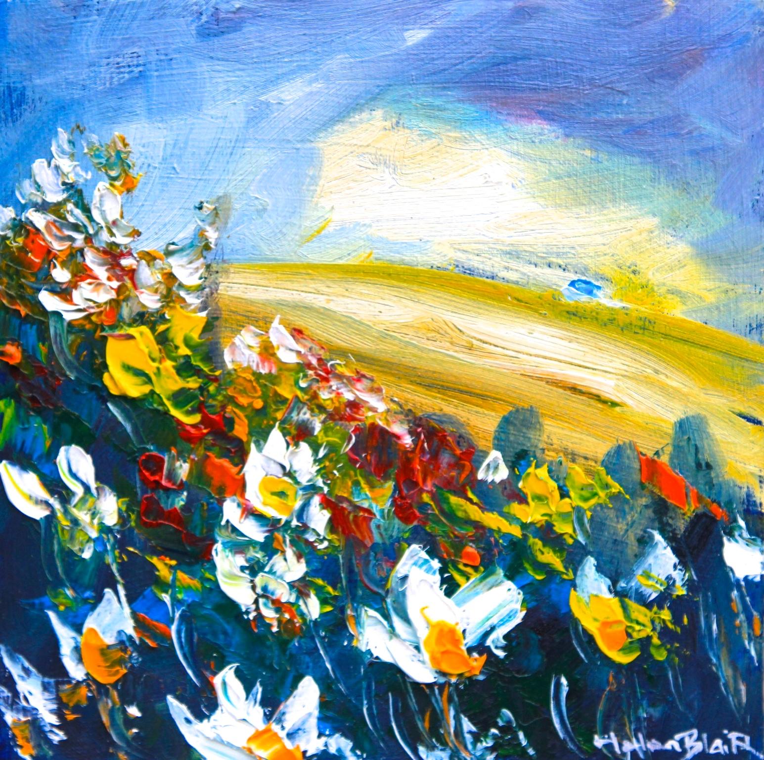 helenblairsart - Wild Flower Hill