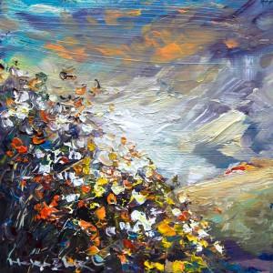 helenblairsart - Sunlit Hill - Mini