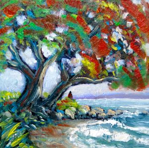 helenblairsart - Pohutukawa Tree, Xmas