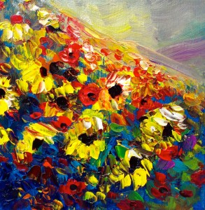 helenblairsart -Sunflower Hill