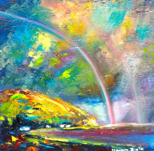 helenblairsart - Over the Rainbow - Mini