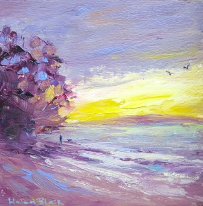 Sunset Beach, helenblairsart