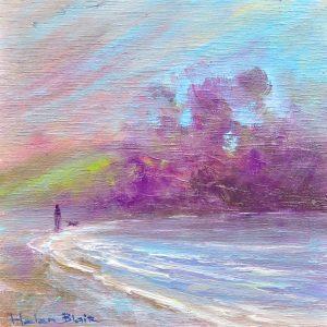 Winter Sunset, helenblairart