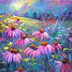 helenblairsart ,Echinacea Flowers