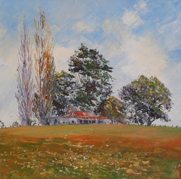 Old Country Cottage, helenblairsart