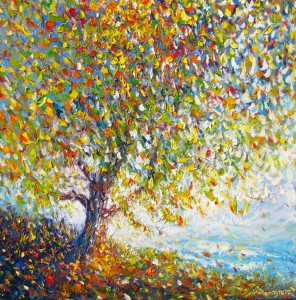 Autumn Tree, helenblairsart