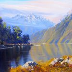 Glenorchy Mountains, helenblairsart