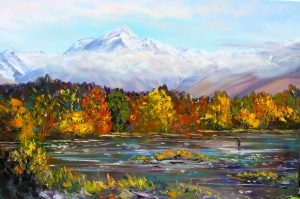 Autumn Mountains, helenblairsart