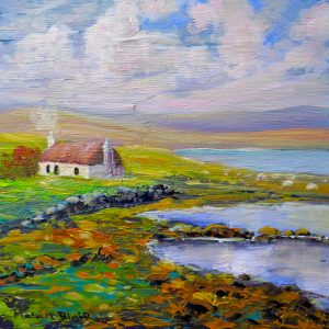 Croft Cottage, helenblairsart