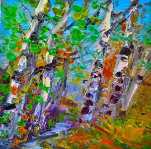 Silver Birch Trees, helenblair