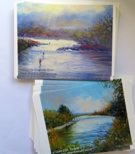 helenblairsart, postcards