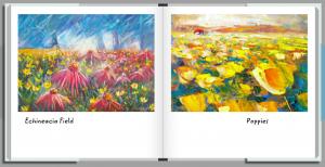Wildflowers Book by HelenBlairsart