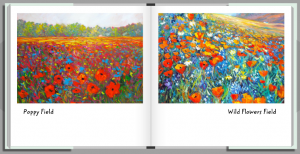 Wildflowers Book by HelenBlairsart