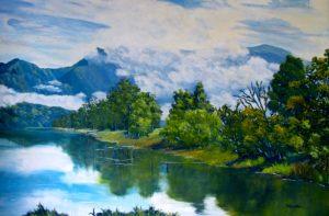 Misty Mountain, helenblairart