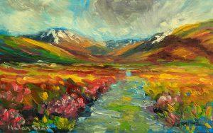 Tongariro Trail, by Helen Blair