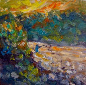 Evening fish, by Helen Blair