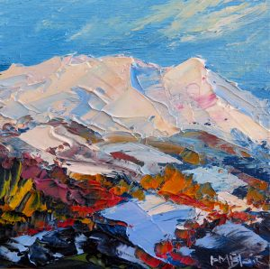 Mt Ruapaehu, by Helen Blair
