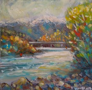 Tongariro River, by Helen Blair