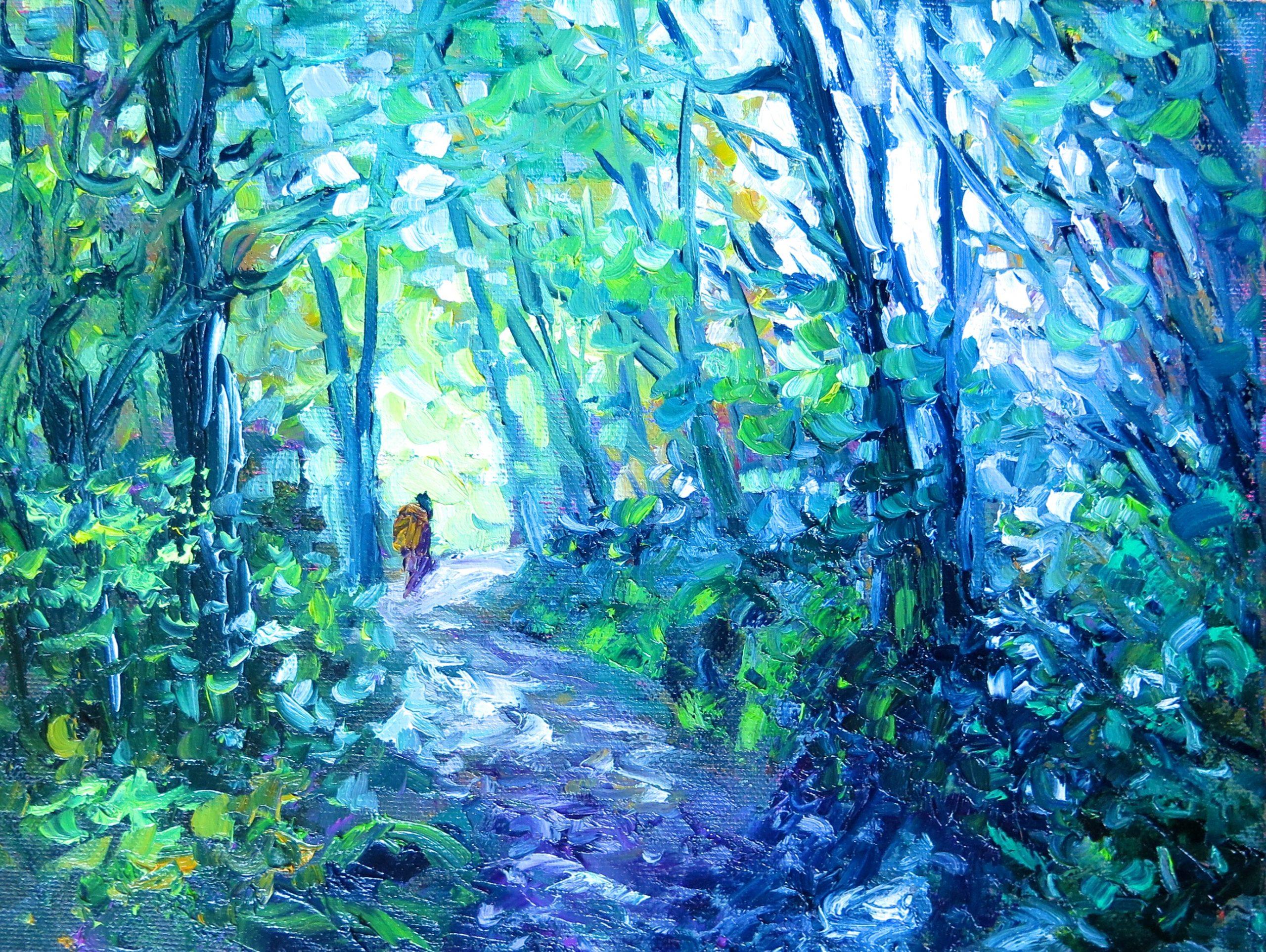 Bush Walk, helenblairsart, Giclee print