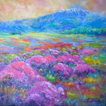 mountain thyme fields by Helen Blair