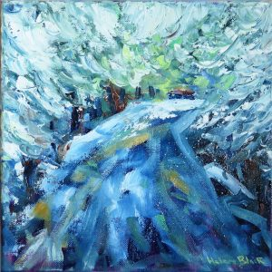 Snowy Road, by Helen Blair