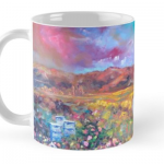 Mountain Prairie Wildflowers Mug by Helen Blair