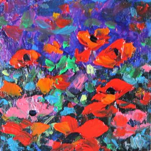 Poppies by Helen Blair