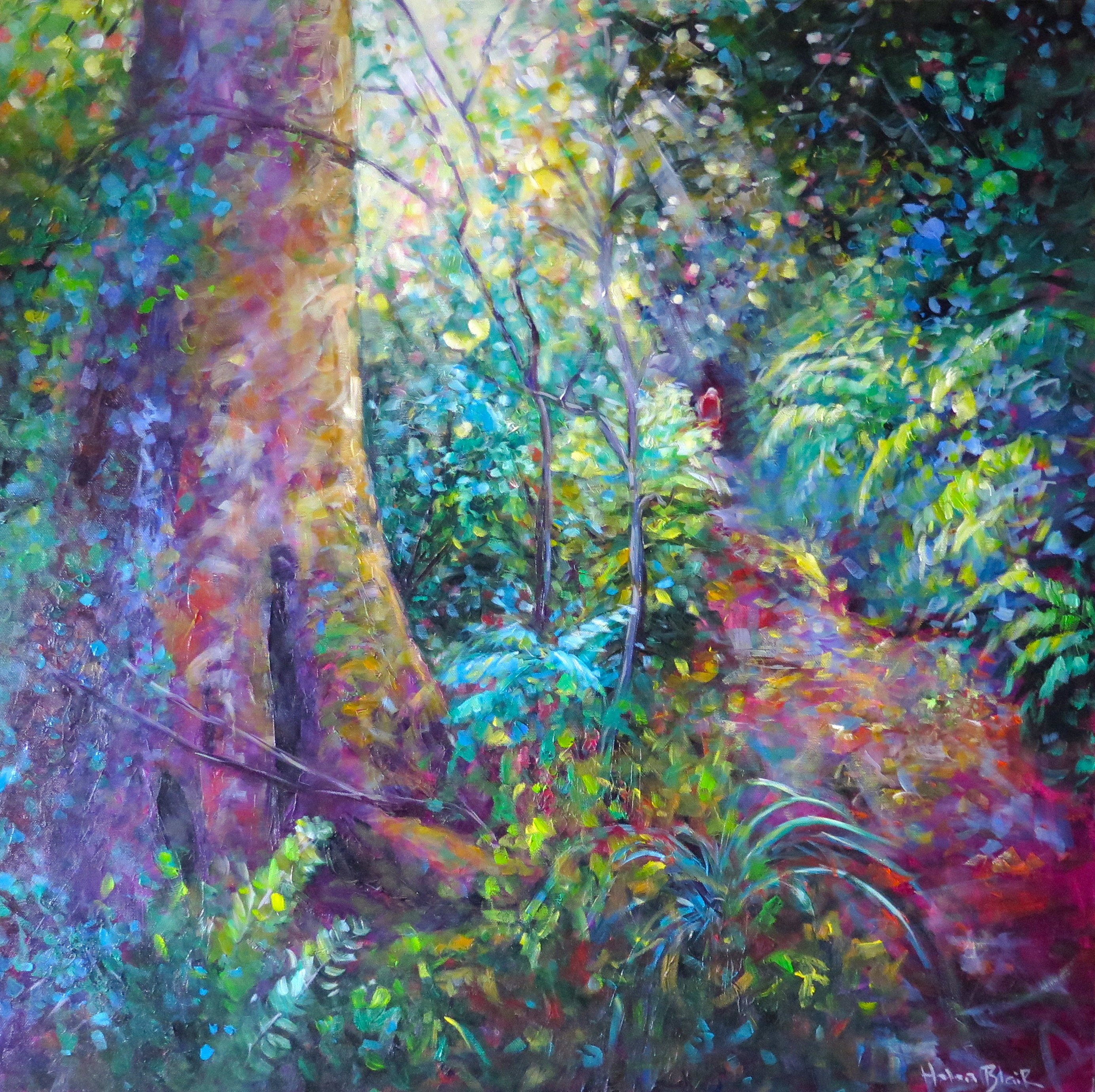 Bush Walk, by Helen Blair