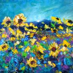 Sunflowers by Helen Blair