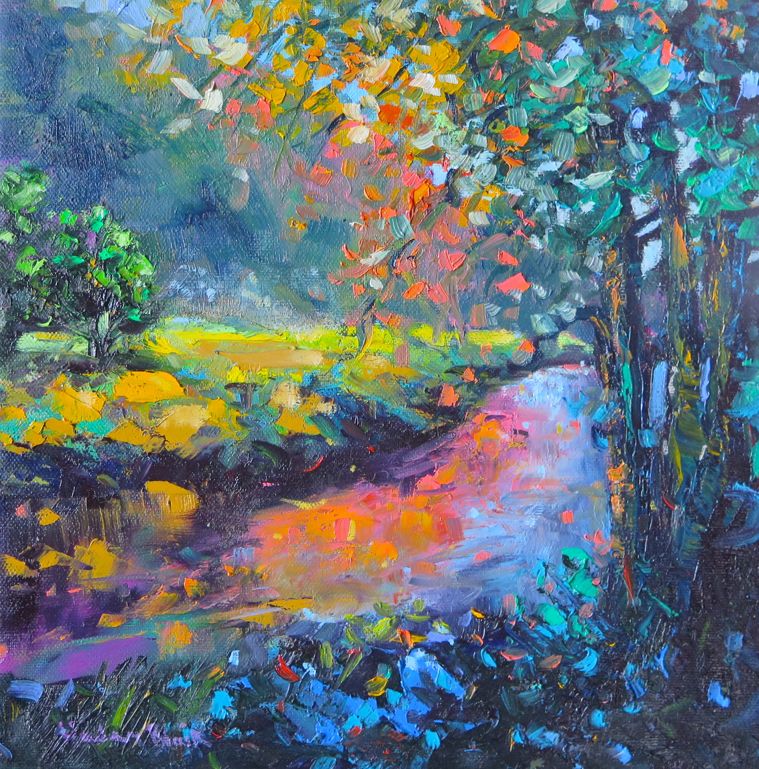 Mountain Stream by Helen Blair