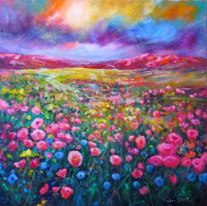 Mountain Prairie Wild Flowers by Helen Blair